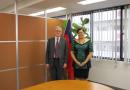 New Ambassador of New Zealand to Japan, H.E. Stephen Payton pays a courtesy call on Ambassador Sila. スティーブン・ペイトン駐日ニュージーランド大使による表敬訪問がありました。